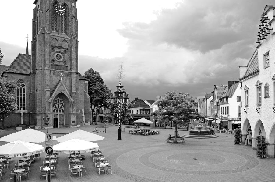 Foto: Marktplatz, Haltern
