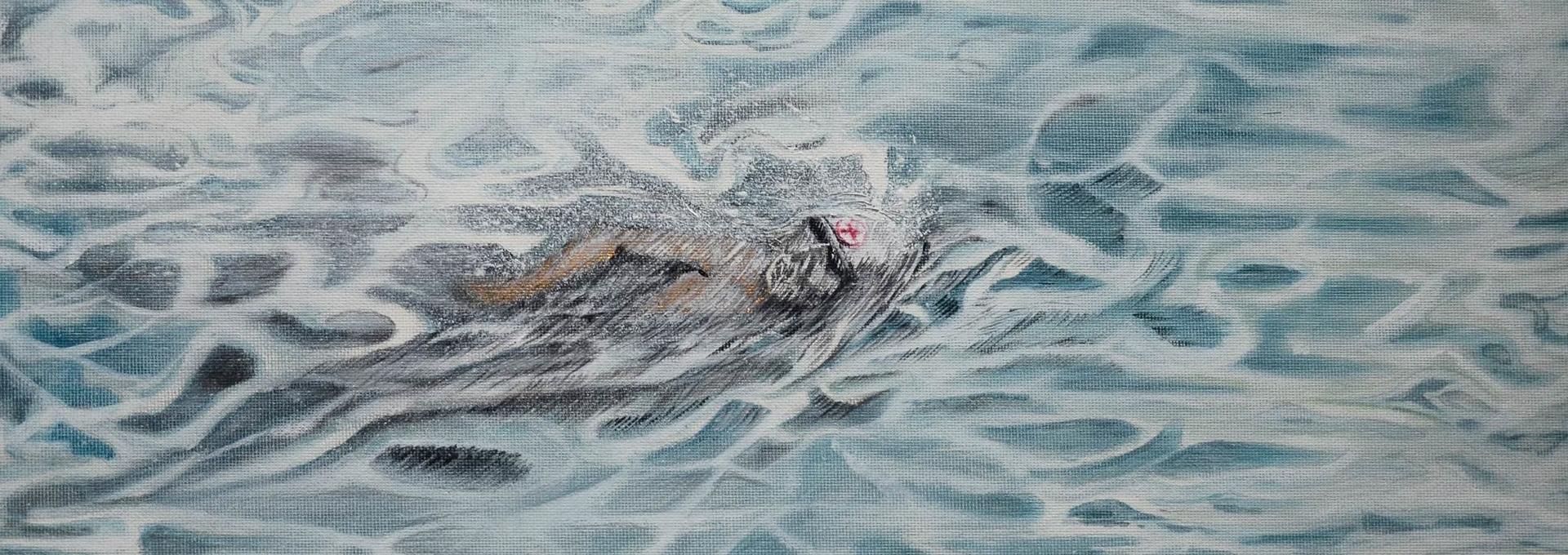 Der Retungsschwimmer