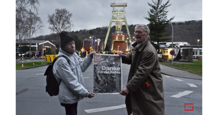 Dokumentarfotografie - Schlllegung Zeche Prosper Haniel, Bottrop, Ruhrgebiet