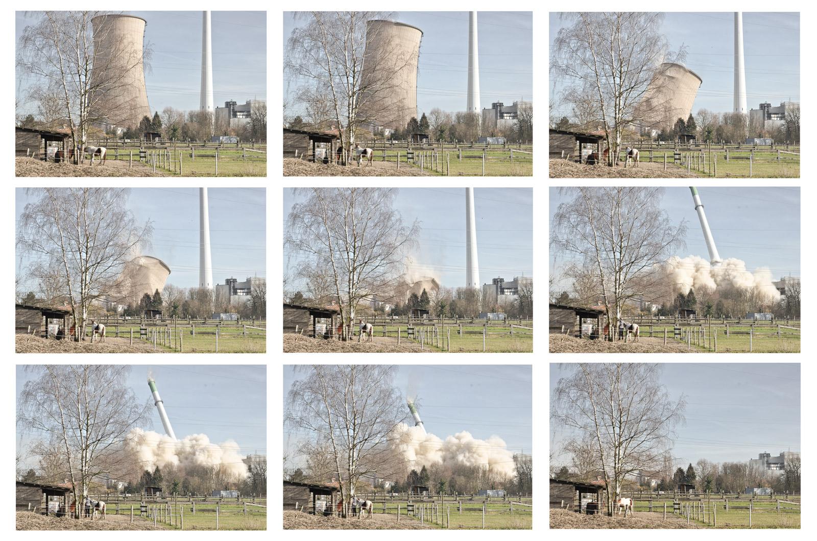 Dokumentation - Sprengung des Knepper Kraftwerks in Castrop-Rauxel / Dortmund
